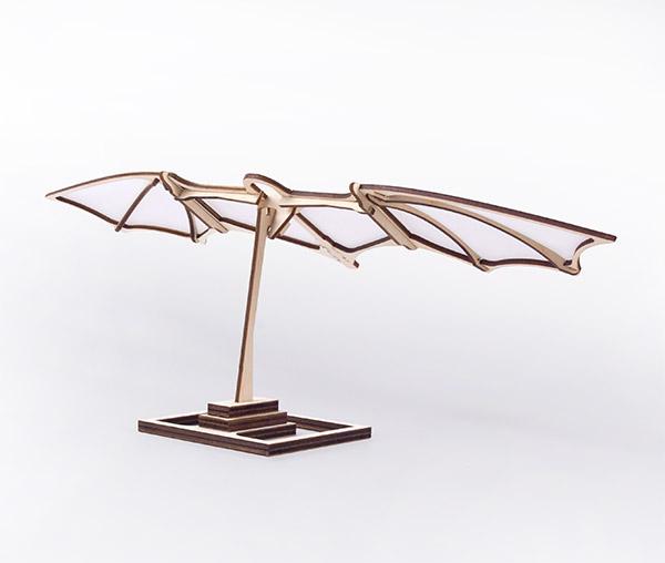 Leonardo's glider