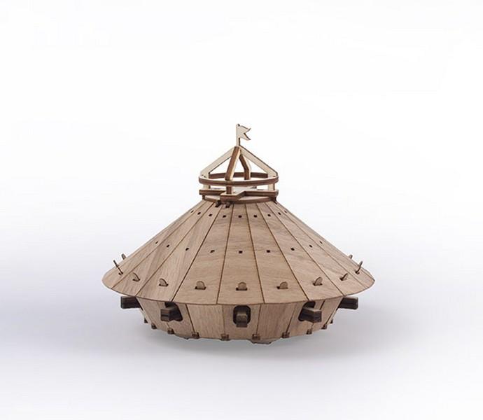 Leonardo's da vinci tank Models