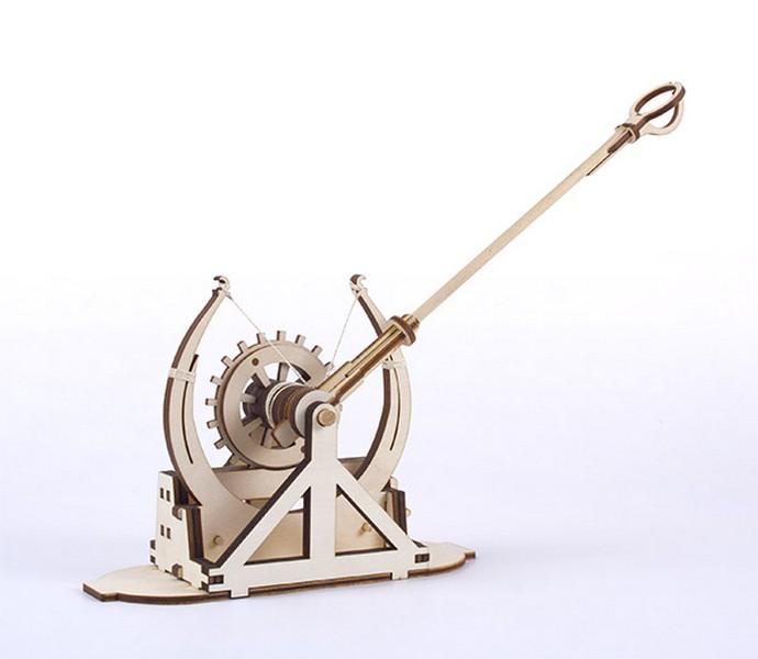 Leonardo's da Vinci catapult kit