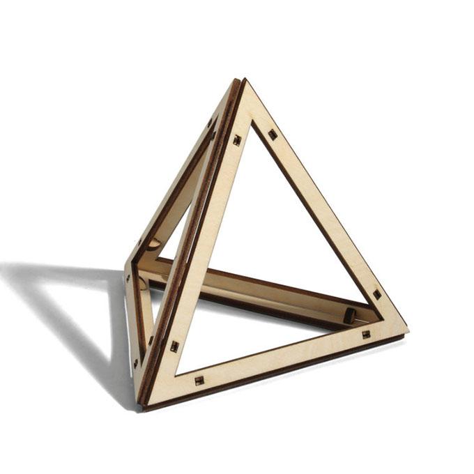 Tetracedron Planus Vacuus Leonardo da Vinci
